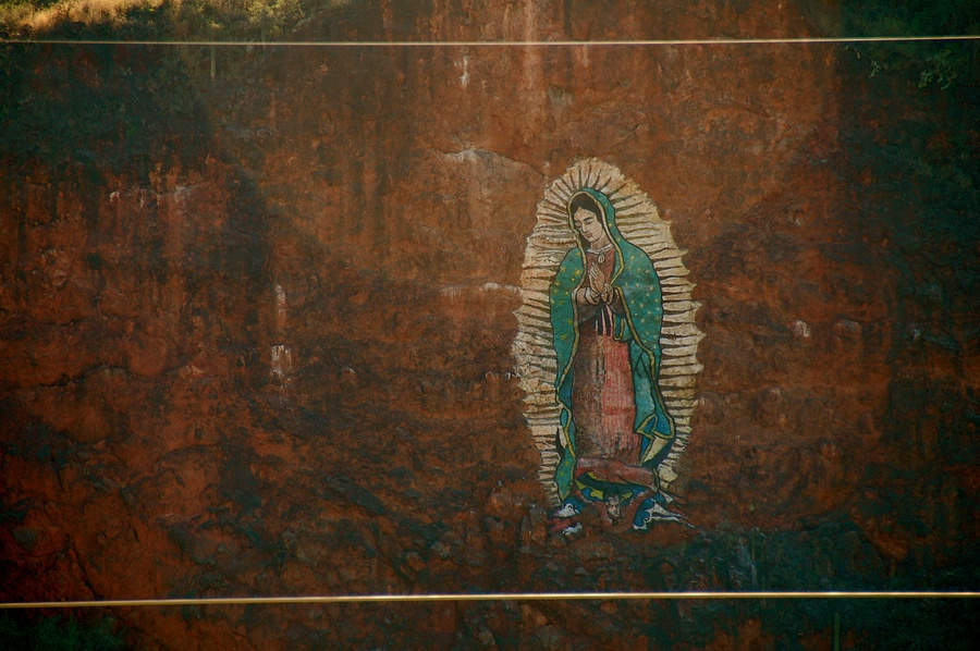 The Virgin Guadalupe and Juan Diego thumbnail