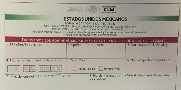 Procedures For Entering And Leaving Mexico Mexperience